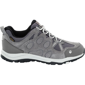 Jack Wolfskin Rocksand Texapore Low Shoes Women grey haze